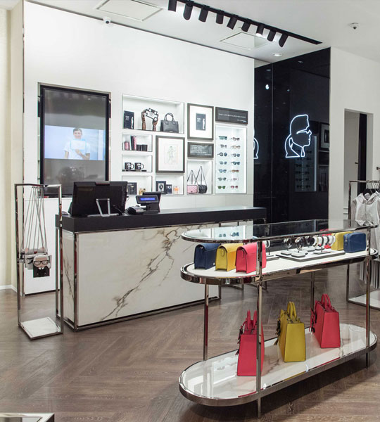 Karl Lagerfield Flagship store Mosca