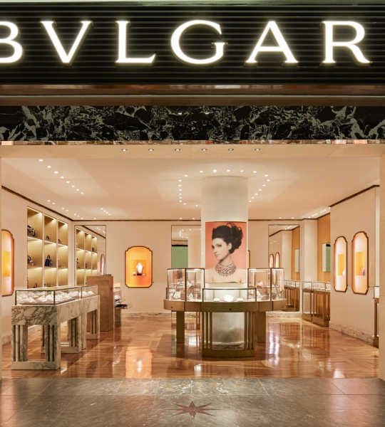 Bulgari Travel Retail Toronto T3
